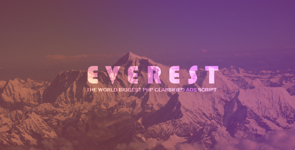 EVEREST v1.2.1 - PHP Classified Ads Script