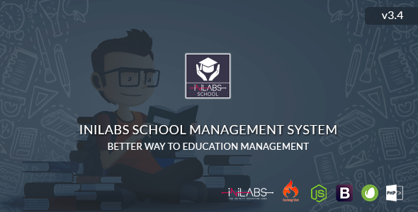 Inilabs School Management System Express v3.4
