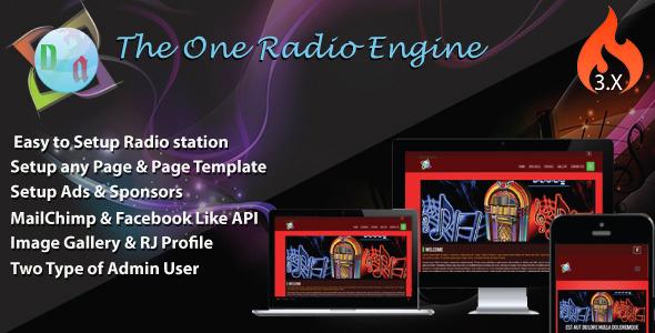 The One Radio Engine v3.0.1