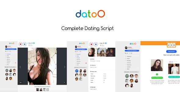 Datoo v1.0 - Complete Dating Script