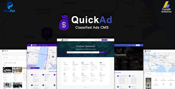 Quickad v4.2 - Classified Ads CMS