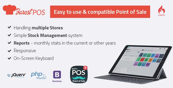 ZARest POS v2.0.0 - restaurant point of sale web application