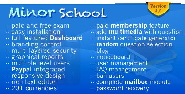 Minor School MCQ v3.2