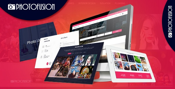 Photo Fusion - Free Stock Photos Script