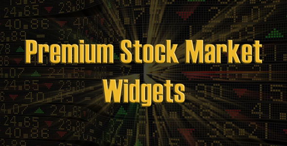 Premium Stock Market Widgets (JS / PHP)
