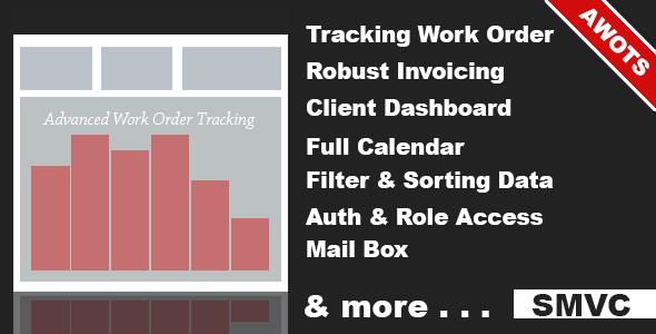 Advanced Work Order Tracking System v1.1