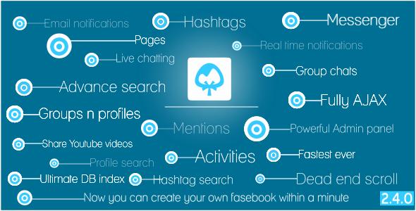 Breeze v2.4.0 - Giant Social Network Platform