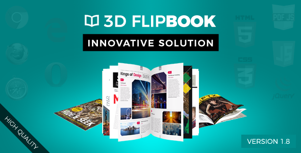 FlipBook - Animation jQuery Plugin