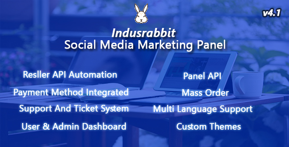 Indusrabbit v4.1 - SMM Panel