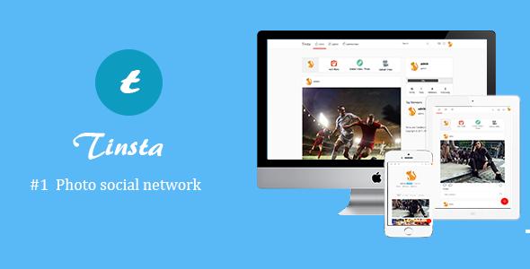 Tinsta v1.1 - A Photo Sharing Social Networking Platform