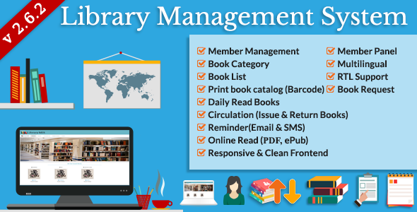 Library Management System (LMS) v2.6.2