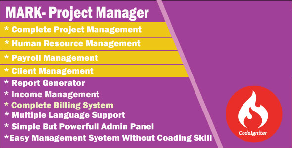 MARK - Project Manager