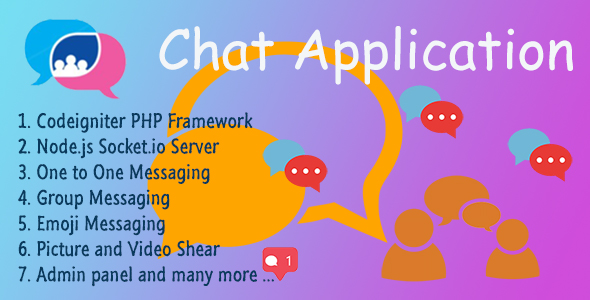 Chat Application v2.0 - Codeigniter ( Socket.io) Node.js