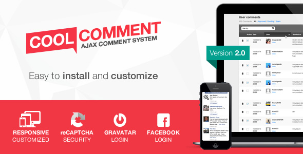 Cool comments ajax system v2.0