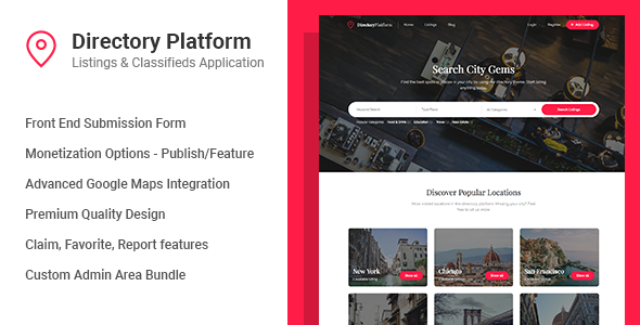 Directory Platform v1.0.6 - Listings & Classifieds