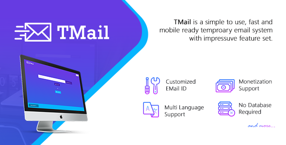TMail v4.2 - Multi Domain Temporary Email System