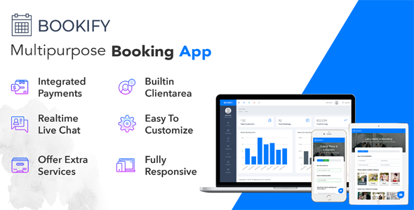 Bookify v1.2 - Multipurpose Booking App