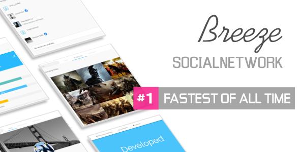 Breeze Lite v1.4 - Social Network Platform