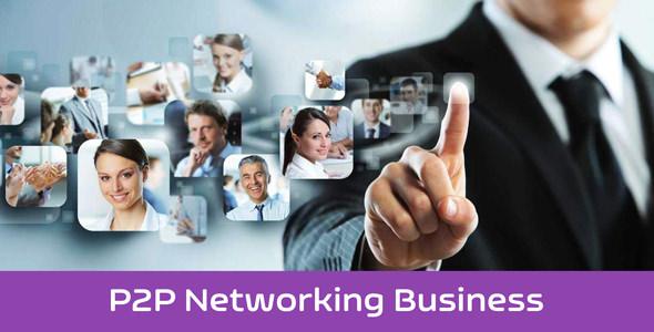eNet - P2P Networking Business Platform