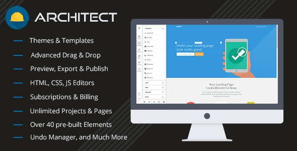 Architect v2.1.5 - HTML and Site Builder