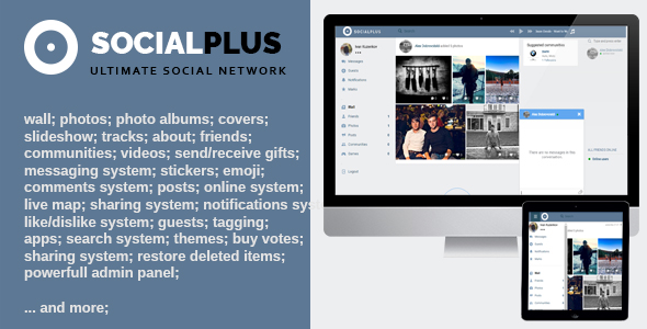 Social Plus v1.1.7 - Ultimate PHP Social Network Platform