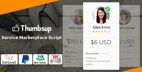 Thumbsup v5.0 - The Service Marketplace Legend