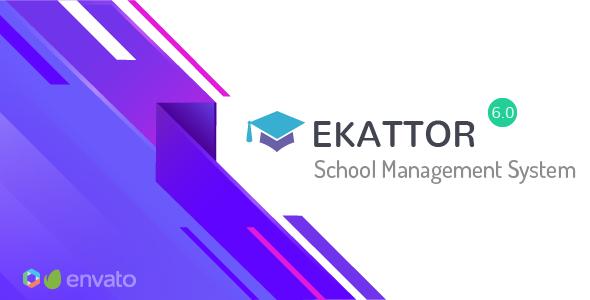 Ekattor v6.0 - School Management System - nulled