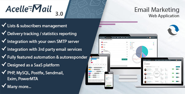 Acelle Email Marketing Web Application v3.0.21 - nulled