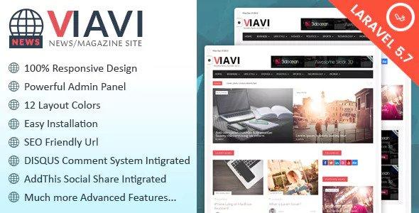 Viavi v1.0.3 - News, Magazine, Blog Script