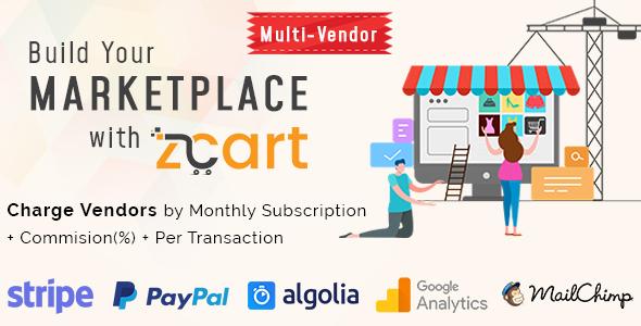 zCart v1.2.2 - Multi-Vendor eCommerce Marketplace