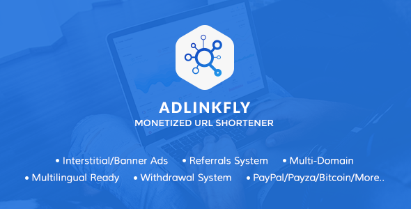 AdLinkFly v6.0.4 - Monetized URL Shortener - nulled