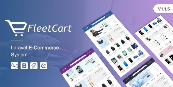 FleetCart v1.1.5 - Laravel Ecommerce System