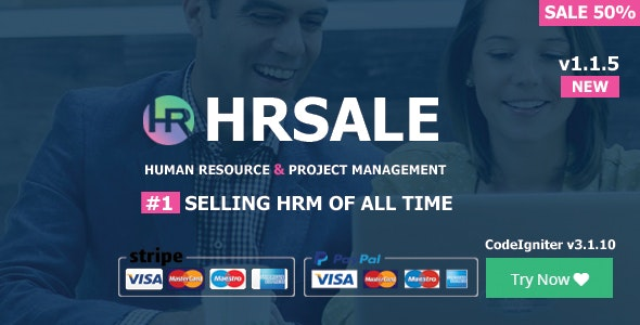 HRSALE v1.1.5 - The Ultimate HRM
