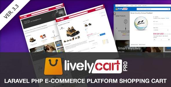 LivelyCart PRO v3.4.0 - Laravel E-Commerce Platform | Shopping Cart