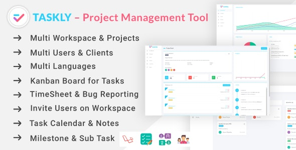 TASKLY - Project Management Tool