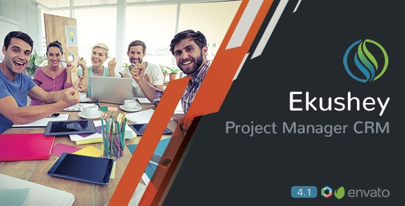 Ekushey v4.3 - Project Manager CRM - nulled