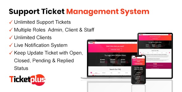 TicketPlus - Support Ticket Management System