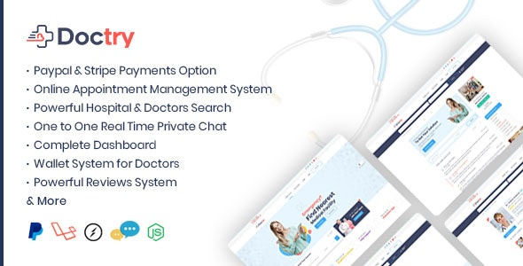 Doctry v1.4 - Doctors and Hospitals Listing Theme