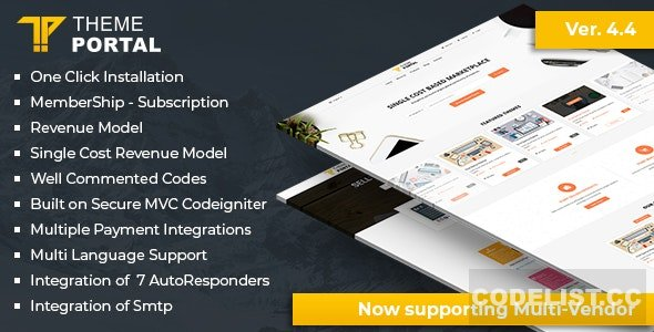 Theme Portal Marketplace v4.5 - nulled