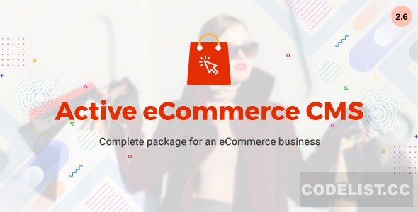 Active eCommerce CMS v2.6 - nulled