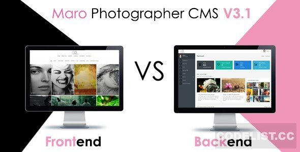 Maro Phpotographer CMS v3.2
