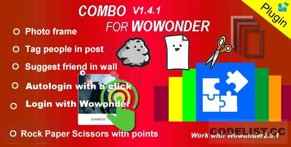 Plugin Combo For Wowonder - 05.05.2020