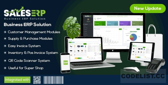 ERP v9.5 - Business ERP Solution / Product / Shop / Company Management