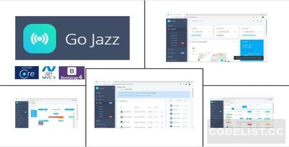 GoJazz Theme Combo v1.0 - ASP.NET Admin Template