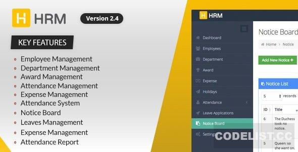 HRM v3.1.6 - Human Resource Management
