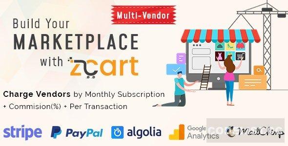 zCart v2.0.6 - Multi-Vendor eCommerce Marketplace - nulled