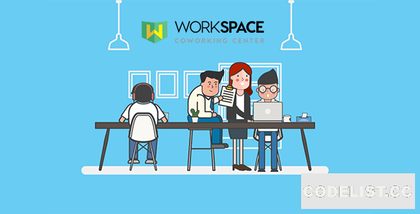 Workspace v1.1 - Creative Office Space Script Theme