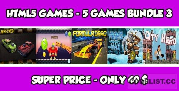 Casual 5 games - Bundle 3