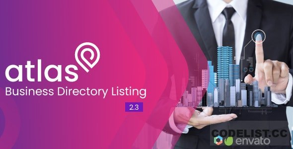 Atlas v2.5 - Business Directory Listing - nulled