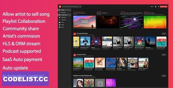 MusicEngine v2.0.8 - Music Social Networking